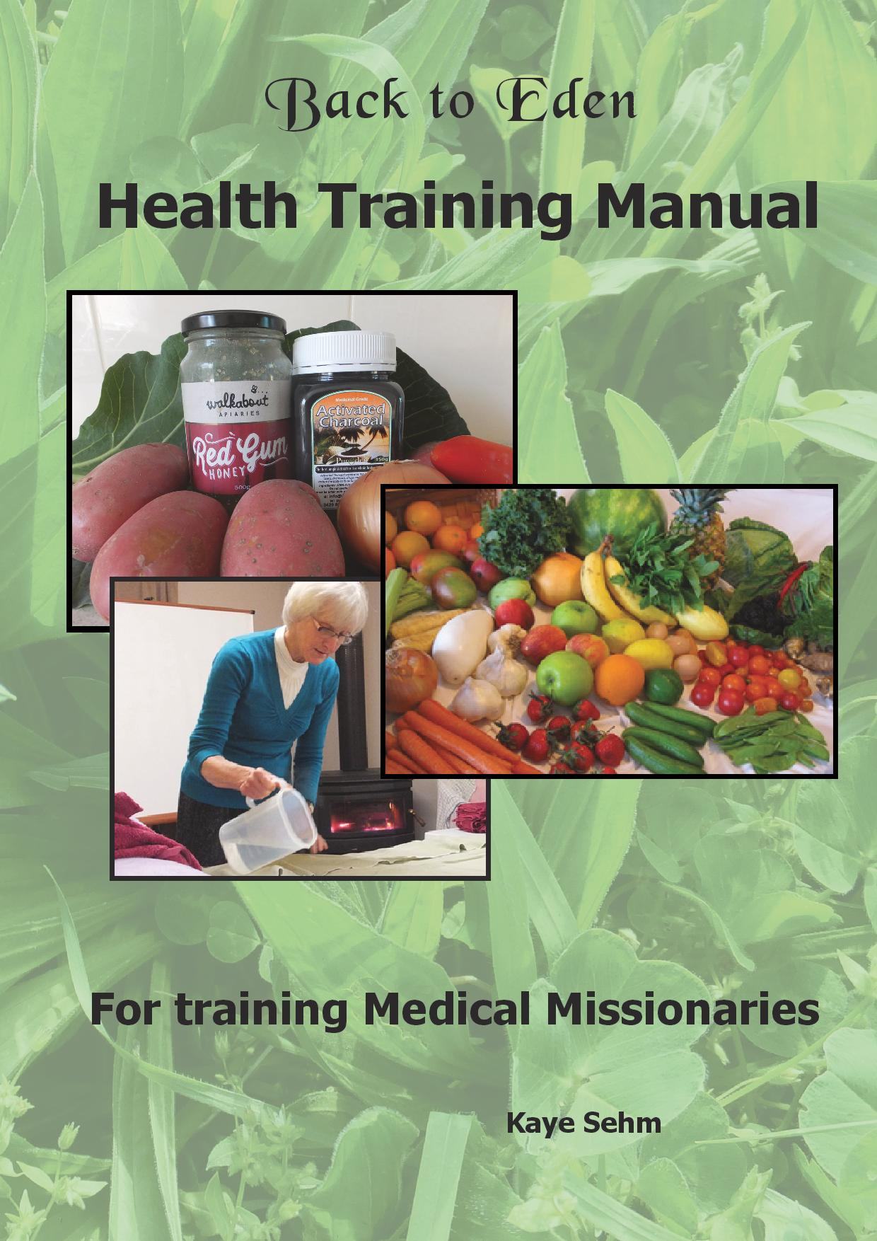 Health Training Manual Kayes Recipes and Remedies – Training Manual Cover Page
